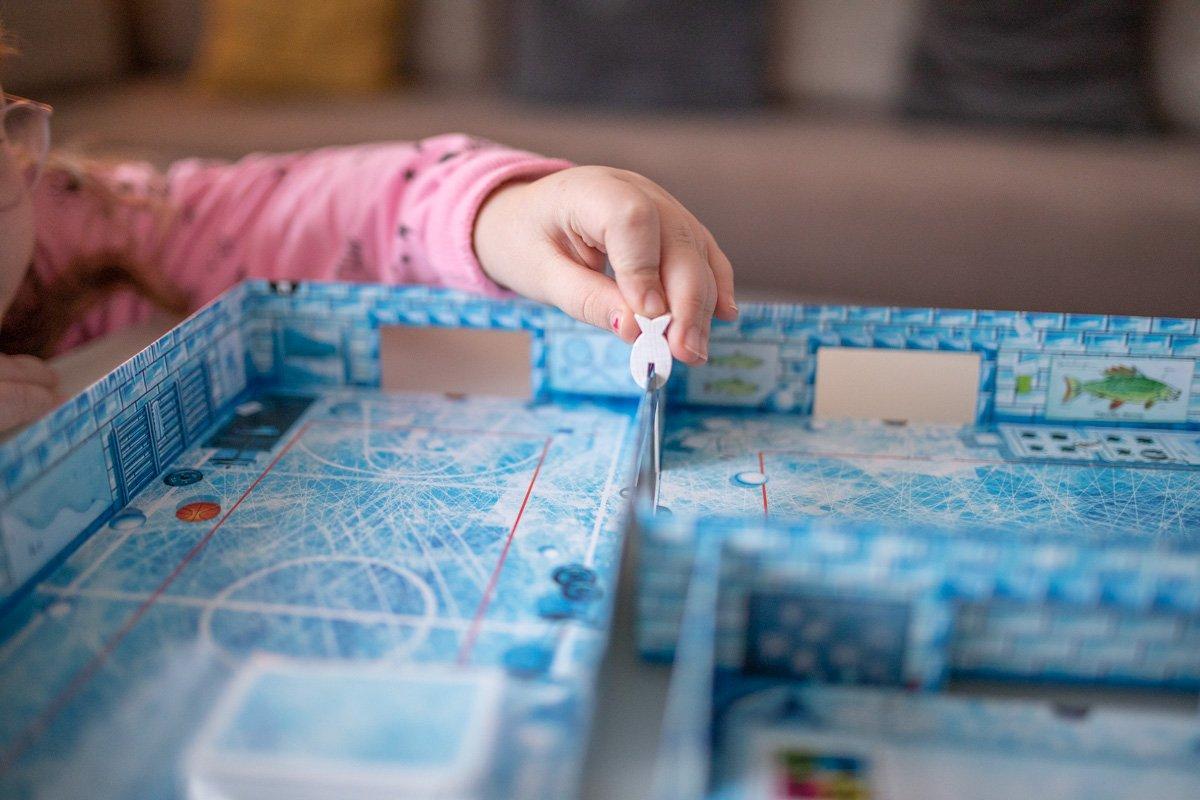 icecool Spielfeld zusammenbauen
